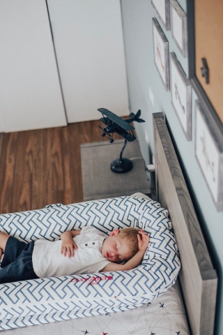 The perfect accessory for Henrys big boy airplane bedroom